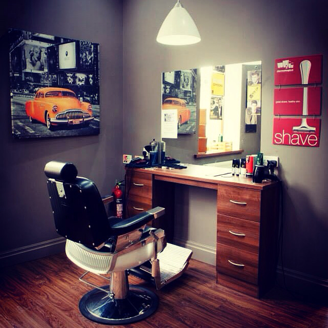 well-managed barber station